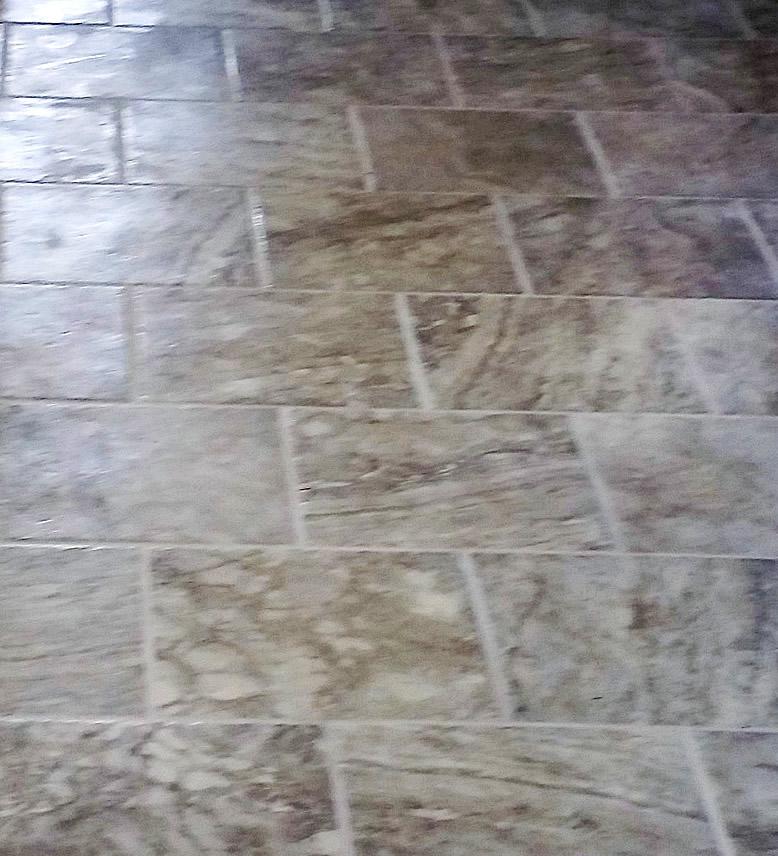 Natural Slate floor